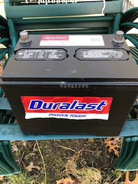 Black and white duralast car battery Waldorf, 20602