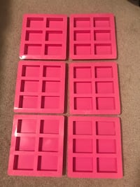 Silicone Soap Molds x6 Mississauga, L5A
