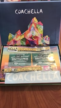 Two Coachella tickets w two shuttle passes College Park, 20740