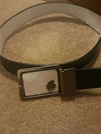 black and white leather Guess belt Kitchener, N2P 2K4