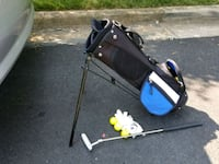 blue and black golf bag Falls Church, 22042