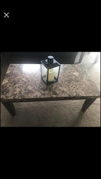 Coffee table and 2 end tables set
