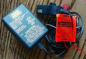"""Two""""Xingcolo"""" Power Wheels battery charger 12 volt Type N connector"""