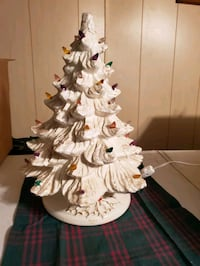 """Cermaic christmas tree 16"""" frosted Hagerstown, 21740"""