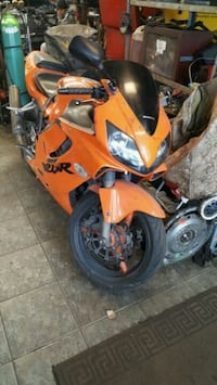 orange and black sport bike Toronto, M3N 2B8