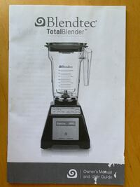 Blendtec blender Retails $500 in Santa Monica Washington, 20024