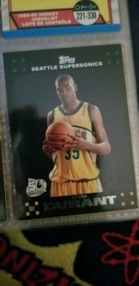 Kevin Durant rookie card