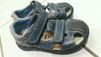 Leather sandals for boy