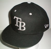 New Era 59Fifty Tampa Rays MLB Cap Size 7 3/4 or 61.5cm