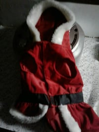 Dog Santa Claus outfit Citrus Heights, 95610