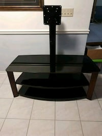Black Wooden 3-layer TV stand excellent condition Vaughan, L4L 6E9