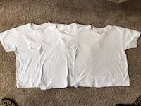 Boys Cotton Hanes T-Shirts, Size M (10/12) Manassas, 20112