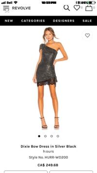 Brand new Sequin Dress. Size small. Vaughan