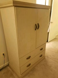 Ivory Textured Armoire  Towson, 21286