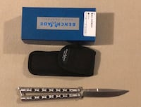 Benchmade Balisong butterfly knife model 62 Alexandria, 22315