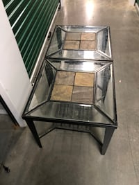 Pair of end tables Potomac