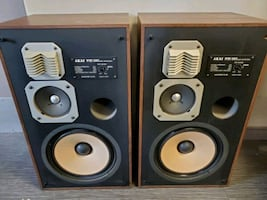 Selling 3-Way Akai Speakers!