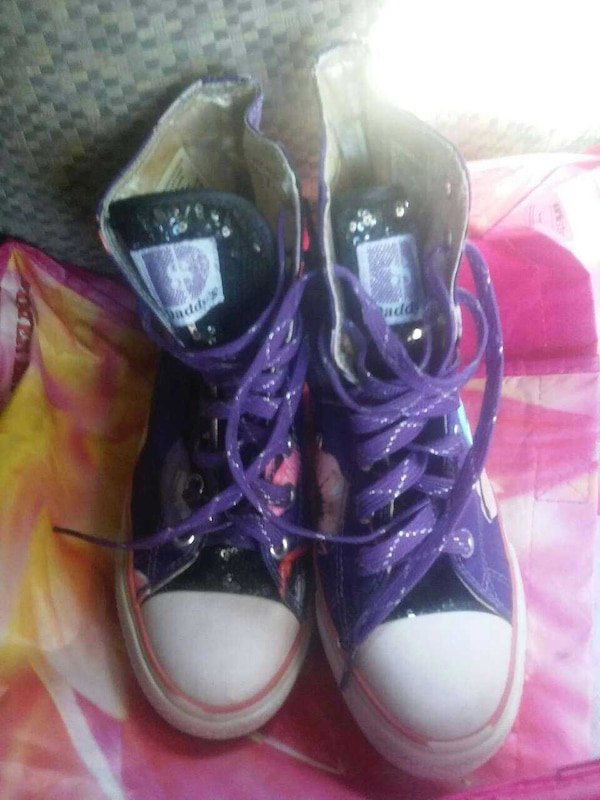 f3c9d51686 Used Sketchers Daddy s Money purple girls shoes for sale in Redlands - letgo