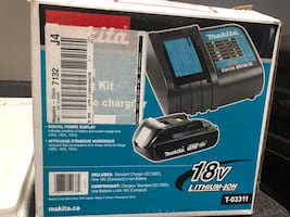 Makita Battery Chargers And New Battery