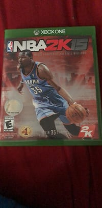Xbox One NBA 2K15 game case New York, 10314