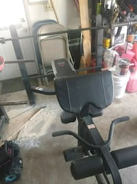 black and gray exercise equipment Marcy, 13403