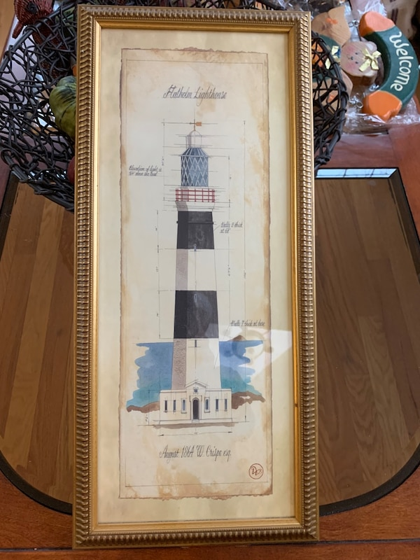 Used Lighthouse Picture Approx 10 Quot X20 Quot For Sale In