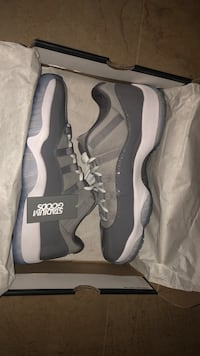 Brand new grey 11's low top size 9.5 New York, 11220