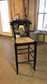 Solid wood and cane bar stool Pottery Barn Cartersville, 30120