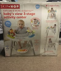 Skip hop 3 stage baby activity center