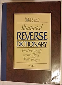 ILLUSTRATED REVERSE DICTIONARY (BRAND NEW ) M3C 1C2