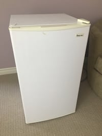 White single-door refrigerator Toronto, M8W 0A9