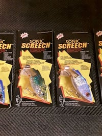 Sonic Sreech fishing lures Milton, L9T 3X7