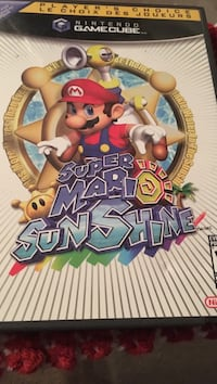 Super Mario sunshine game cube game  Fort Saskatchewan, T8L 4M2