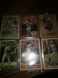 San Francisco Giants baseball cards old and new