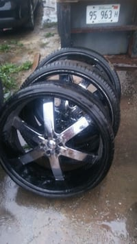 "28"" Inch rims Chevy U2 6LUG BOLT PATTERN Chicago"
