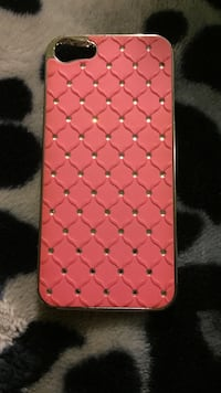 quilted red and black iPhone case Calgary, T3J 1S1