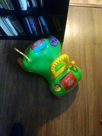 green and yellow ride-on toy 373 mi