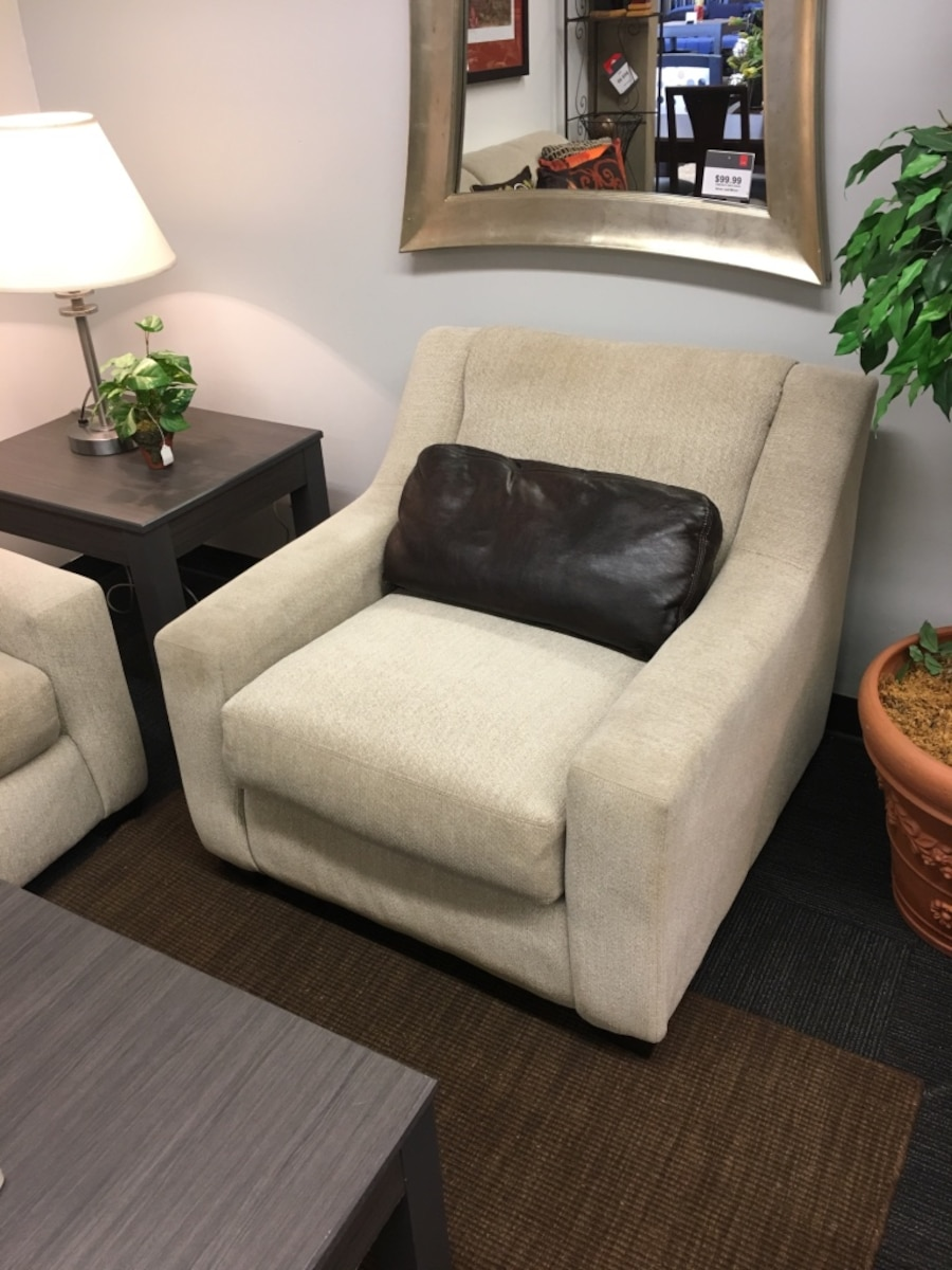 Used Neutral Sofa Chair Set In Tulsa