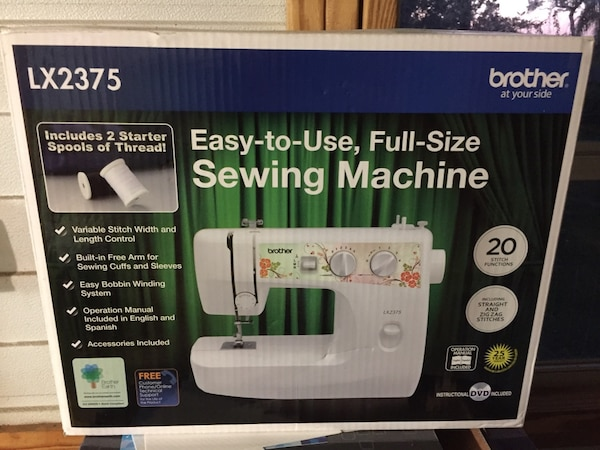 Used Brother Lx40 Sewing Machine Box For Sale In Winter Park Letgo Stunning Brother Sewing Machine Lx2375
