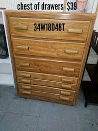 Chest of drawers  Fort Worth, 76111