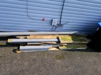 Free wood from old deck