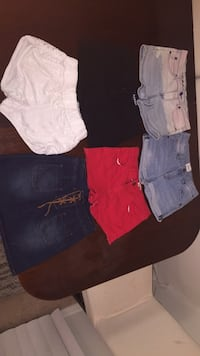 assorted-color denim shorts lot Annandale, 22003