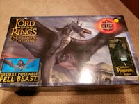 Lord of the Rings deluxe poseable Fell beast. Brampton, L6Z 1X4