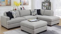 Granite fabrick sectional comfort guarantee Fresno, 93728