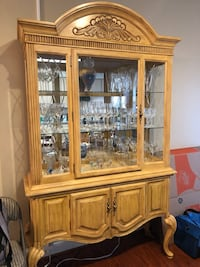 Light Oak Hutch Clarksburg, 20871