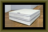 Queen mattress double pillow top with box spring Adelphi, 20783