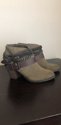 TROUVE SUEDE BOOTIES -Women's Size 6  Fairfax, 22030