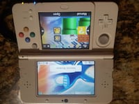 white New Nintendo 3DS handheld game console