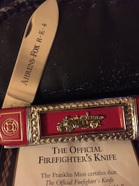 Firefighter's collectors Knife