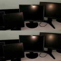 Various computer monitors for sale Portsmouth, 23702